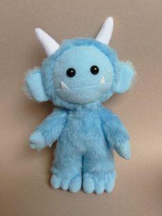 Lurk the cute plush monster by CreepyandCute on Etsy, €35.00