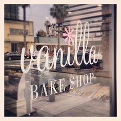 Vanilla Bake Shop in Santa Monica, California. Delicious desserts!