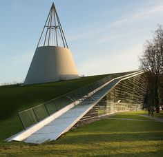TU Delft library, Netherlands, by Mecanoo architects