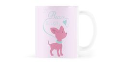 Life is Better with a Dog Mug #dogs #puppies #pets #animals #pink