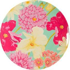 Navitage Hothouse Floral Melamine Dinner Plate at McEwens of Perth