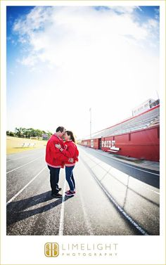 Engagement Session, Limelight Photography, Florida engagement session, couple, stadium, couple