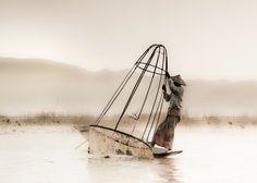 fishing @ inle lake by hamni juni on 500px
