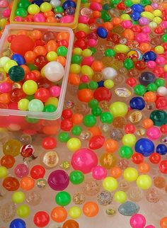 Colorful balls by tanakawho, via Flickr