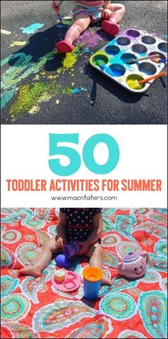 "post has a printable summer ""bucket list"" for toddlers and children featuring 50 fun activities. These are great activities that would be perfect for family date nights/date days. Your kids will have a blast going through the list this summer. Toddler Play, Toddler Learning, Baby Play, Toddler Preschool, Toddler Crafts, Learning Games, Infant Activities, Fun Activities, Outdoor Activities"
