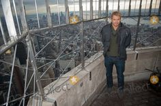 Jan. 6, 2014 - Manhattan, New York, U.S. - KELLAN LUTZ, best known for the ''Twilight'' film series and star of the soon to be released ''The Legend of Hercules'' tours the Empire State Building's 86th floor and 103rd floor parapet. (Credit Image:  Bryan Smith/ZUMAPRESS.com)