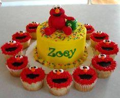 Resultado de imagen para elmo cake decorations