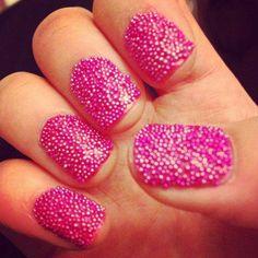 caviar nails <3
