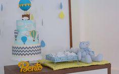 Confira detalhes da decoração que teve como paleta principal os tons de azul e amarelo