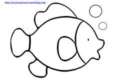 Coloriage poisson dessiné par nounoudunord