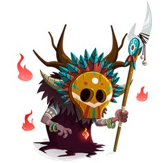 Tiki Chaman on Behance