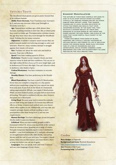 Post with 2407 views. Dungeons And Dragons Races, Dungeons And Dragons Classes, Dnd Dragons, Dungeons And Dragons Characters, Dungeons And Dragons Homebrew, Dnd Characters, Fantasy Characters, Dnd 5e Races, D D Races