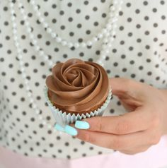 Banana Cupcake with Caramel Frosting