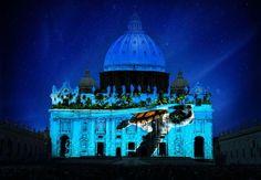 """Chiesa. Se la facciata di San Pietro diventa uno """"show ..."""