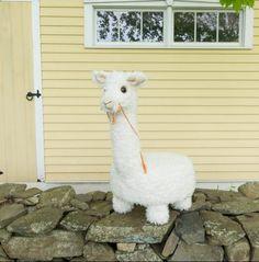 Free Sewing Pattern: Caya The Alpaca Tuffet
