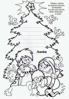 Christmas 2016, Christmas And New Year, Xmas, Bible Activities, Preschool Activities, Religion Catolica, Sunday School, Coloring Pages, Colouring