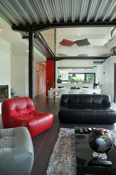 filet int rieur on pinterest mezzanine trampolines and flats. Black Bedroom Furniture Sets. Home Design Ideas