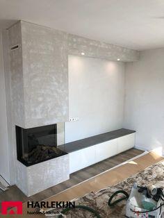 Living Room Decor Fireplace, Home Fireplace, Modern Fireplace, Fireplace Design, Home Living Room, Home Building Design, Home Room Design, Living Room Tv Unit Designs, Townhouse Designs