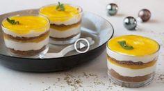Dit makkelijke dessert kan je de avond op voorhand al klaarmaken en een nachtje laten opstijven in de koelkast. Het zoete van de mango is een goede ...