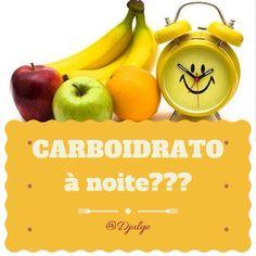 """Carboidratos à Noite? Coma sem Culpa! Mais uma vez, """"eles"""" estavam enganados!  Porquê eu deveria comer carboidratos à noite, e não pela manhã? Leia no meu instagram.com/djulye"""