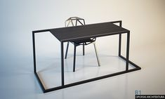 First series of furniture on Behance