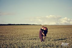 Wedding photographer London | Cornfield Engagement Shoot by weheartpictures.com