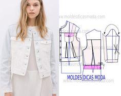 Sewing Pattern/ Jeans Jacket