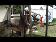 medieval days at Voergaard Castle in North Jutland in Denmark 2011 part one