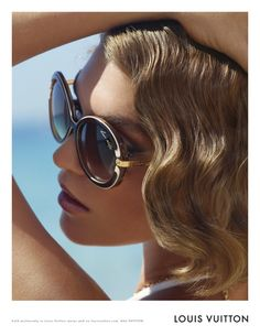 Louis Vuitton resort sunglasses 2012. I love these.