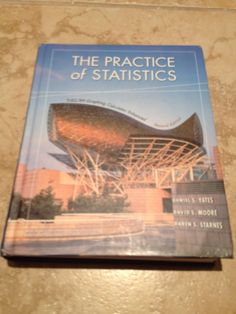 the practice of statistics by Yates moore hardcover