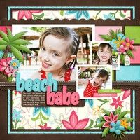 A Project by Digikiwichick from our Scrapbooking Gallery originally submitted 07/13/13 at 02:14 PM
