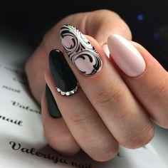and Beautiful Nail Art Designs Nails Only, Love Nails, Fun Nails, Pretty Nails, Fabulous Nails, Perfect Nails, Nagel Stamping, Henna Nails, Coffin Nails Long