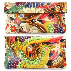 Lederen Clutch tas / of schoudertas / dames door tovisorgaboutique