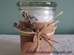 DIY Lavender Bath Salt
