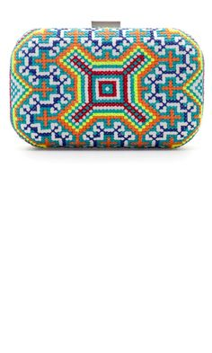 Zara Embroidered Box Clutch, £29.99