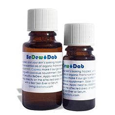 Living Libations  Organic  Wildcrafted BeDew Dab Soothing Facial Oil 15 ml -- Click for Special Deals #OrganicOils