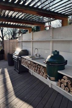 """Exceptional """"outdoor kitchen designs layout patio"""" info is offered on our website. Have a look and you wont be sorry you did. Bbq Kitchen, Basic Kitchen, Outdoor Kitchen Design, Kitchen On A Budget, Kitchen Ideas, Outdoor Kitchens, Kitchen Appliances, Kitchen Inspiration, Kitchen Cabinets"""