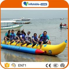 Bright Inflatable Pvc Banana Blow Up Pool Water Toy Ball Party Item Children Kids Toy Kids Fruit Toy Party Fancy Dress Durable Modeling Inflatable Bouncers