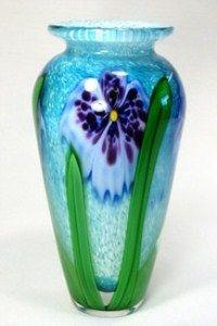 Aqua Vase by Stuart Abelman