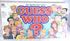 Vintage Guess Who Board Game 1996 Complete Milton Bradley Ages 6 and up 2 Player #MiltonBradley