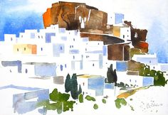 Chora I, Amorgos, 2011