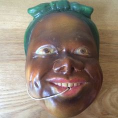 Hey, I found this really awesome Etsy listing at https://www.etsy.com/listing/423199321/vintage-rare-black-americana-chalk-ware