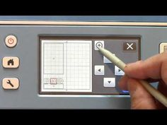 Using the Brother ScanNCut to Scan an Image and Make a Cut File - YouTube