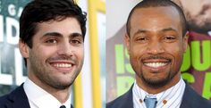 Two more actors have joined 'The Mortal Instruments' TV series 'Shadowhunters': Matthew Daddario and Isaiah Mustafa. Isaiah Mustafa, Matthew Daddario, Alec Lightwood, Malec, The Mortal Instruments, Tv Series, It Cast, Actors, The Infernal Devices