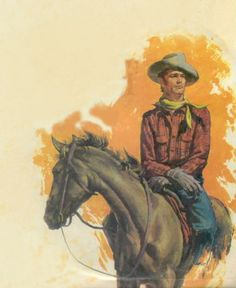 HORSE ART PRINT Chasin the Sun by Barry Hart Cowboy Ranch Western Poster 26x38