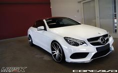 2014 CLS63 AMG Black   2014 Mercedes Benz E-Class Coupe on CW-S5 Matte Black Machined Face ...