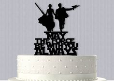 Star Wars inspired Epic Wedding Cake Topper