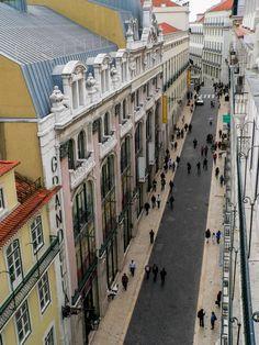 Lisboa - Rua do Carmo