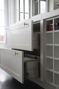 De mooiste woonkeukens van MiCasa Decoration, Home Kitchens, Loft, Bed, House, Furniture, Design, Home Decor, Little Cottages