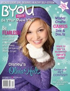 Giveaway post for a one year subscription to BYOU Magazine - Enter until 12.13.12